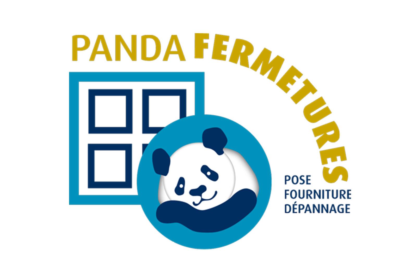 logo panda fermetures