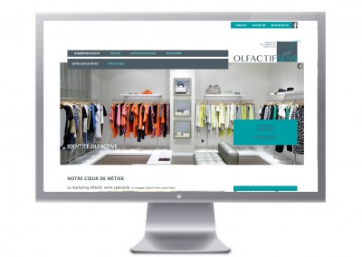 OLFACTIF SENS site internet