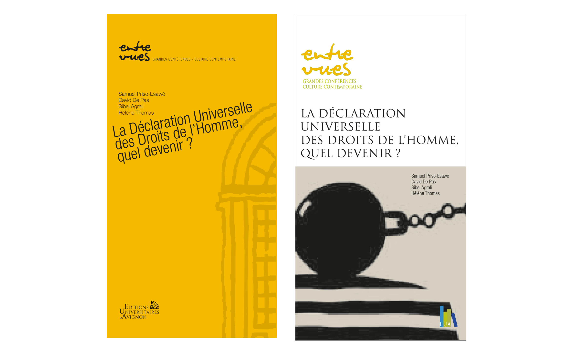 Collection Entre-vues-Editions Universitaires d'Avignon-Réalisaion IBSTUDIO