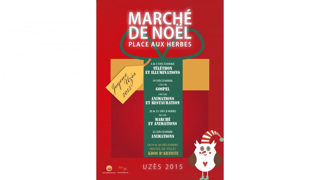 Uzès – Marché de Noël
