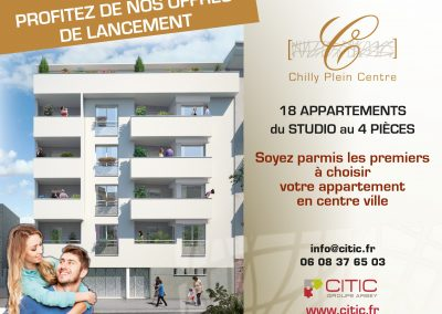 CHILLY PLEIN CENTRE PROGRAMME IMMOBILIER