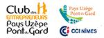 Membre du Club des Entrepreneurs Pays d'Uzège - Pont du Gard CCI Nimes