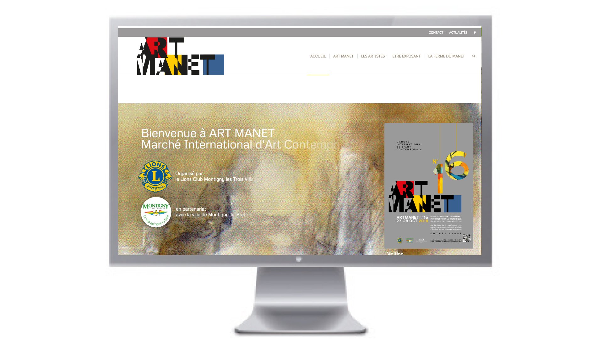 Art Manet Marché d'Art Contemporain