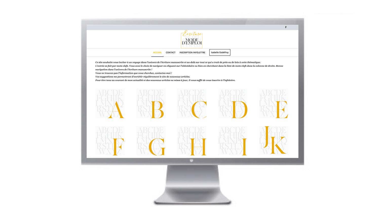 site Ecriture mode d'emploi